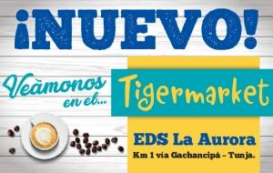 Nuevo Tigermarket EDS Mobil La Aurora